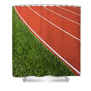 Running Track Shower Curtain