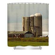 Rural Country Farm Shower Curtain