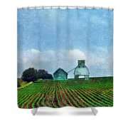 Rural Farm Shower Curtain