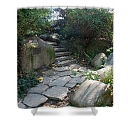 Rural Steps Shower Curtain
