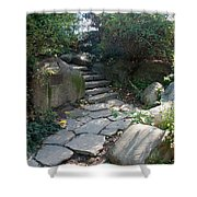 Rural Steps Shower Curtain by Rob Hans