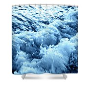 Ice Cold Water Shower Curtain