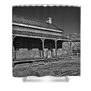 Russell Home - Bw Shower Curtain