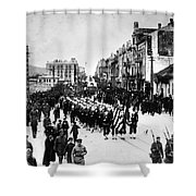Russia: Allied Troops, C1919 Shower Curtain