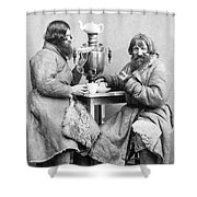 Russia: Samovar, C1860 Shower Curtain