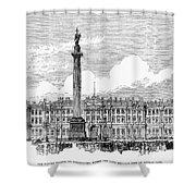 Russia: St. Petersburg, 1881 Shower Curtain