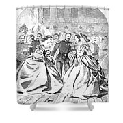 Russian Visit, 1863 Shower Curtain