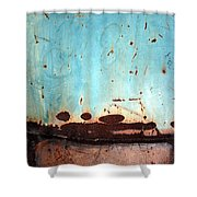 Rust And Paint 1 Shower Curtain