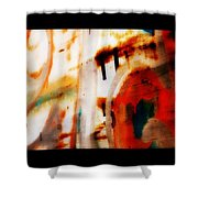 Rusted Paint Shower Curtain