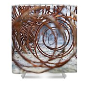 Rusted Spring 2 Shower Curtain