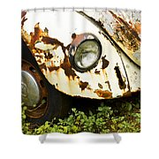 Rusted Volkswagen Shower Curtain