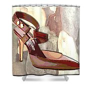 Rustic Saddle Up Shower Curtain