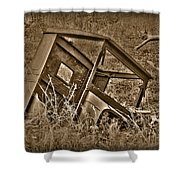 Rusting Away Shower Curtain