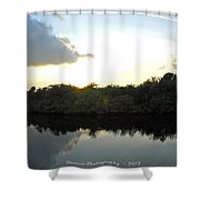 Rusty Belly Resturant View  Shower Curtain