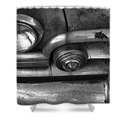Rusty Cadillac Detail Shower Curtain