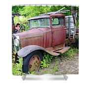 Rusty Is Retired Shower Curtain