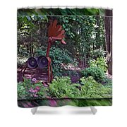 Rusty The Moose Shower Curtain