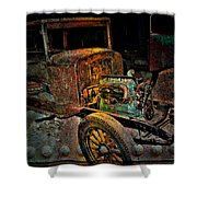 Rusty Travels Shower Curtain