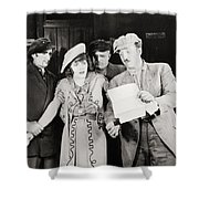 Ruth Of The Rockies, 1920 Shower Curtain