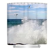 S P L A S H Shower Curtain