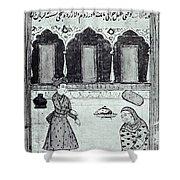 Saadi (c1184-1291) Shower Curtain
