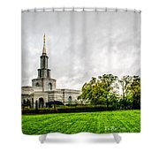 Sacramento Temple Landscape Shower Curtain