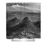 Sacramento Valley, C1846 Shower Curtain