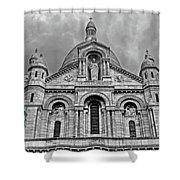 Sacre Coeur Montmartre Paris Shower Curtain
