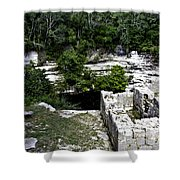 Sacred Cenote Shower Curtain