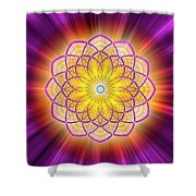 Sacred Geometry 110 Shower Curtain
