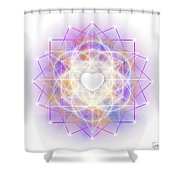 Sacred Geometry 113 Shower Curtain