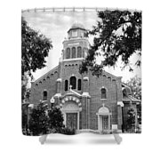 Sacred Heart Church Shower Curtain