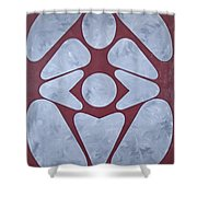 Sacred Heart Shower Curtain