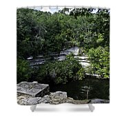 Sacred Well Shower Curtain