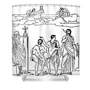 Sacrifice Of Iphigenia Shower Curtain