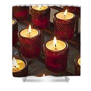 Sacrificial Candles Shower Curtain