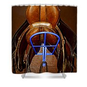 Saddles Shower Curtain by Elena Elisseeva