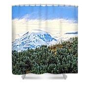 Sage Mountain Shower Curtain
