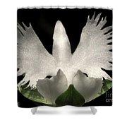 Sagi-so Or Crane Orchid Shower Curtain