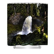 Sahalie Falls Shower Curtain