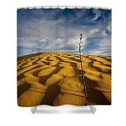 Sahara Desert, Tunisia, Africa Shower Curtain