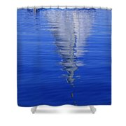 Sailboat On Water Shower Curtain