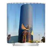 Sailfish Splash Park Mural 11 Shower Curtain