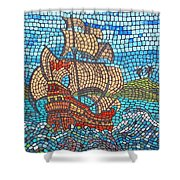 Sailing Home Shower Curtain