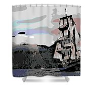 Sailing Ship Shower Curtain