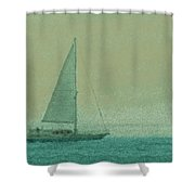 Sailing The Coast Shower Curtain
