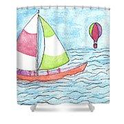 Sailor Shower Curtain