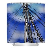 Sailors Beck And Call Shower Curtain