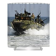 Sailors Navigate The Waters Shower Curtain