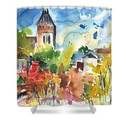 Saint Bertrand De Comminges 05 Shower Curtain